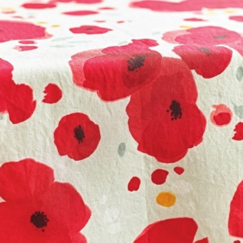 NAPPE METIS POPPIES - SYLVIE THIRIEZ