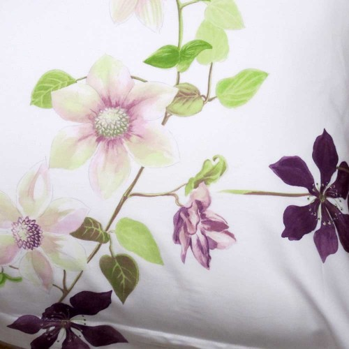 TAIE D'OREILLER CLEMATIS - 65/65cm - YVES DELORME